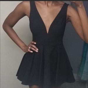 Lulu Black Dress with short